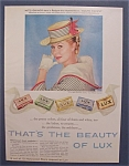 1958 Lux Bar Soap with Mitzi Gaynor