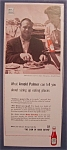 Vintage Ad: 1961 Heinz Tomato Ketchup w/ Arnold Palmer