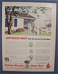 1954  Sherwin - Williams  House  Paint