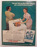 1956  Apex  Wash - A - Matic  with  Tide  Detergent