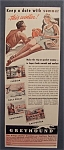 Click here to enlarge image and see more about item 9226: Vintage Ad: 1941 Greyhound