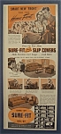 1942  Sure - Fit  Slip  Covers