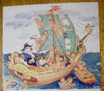 Click to view larger image of 1944 Swan Soap With Babies On A Ship (Image3)