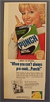 1970  Punch  Laundry  Detergent