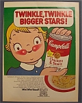 1970  Campbell's  Chicken  &  Stars  Soup