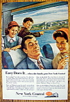 Vintage Ad: 1954 New York Central System