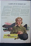1943 Nash/Kelvinator with Woman in Military Uniform