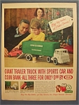 Vintage Ad: 1963 Cities Service Giant Trailer Truck