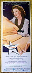 Vintage Ad: 1944 North Star Blankets with Loretta Young
