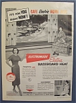 1959  Electromode  Electric  Baseboard  Heat