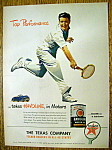 1947 Havoline Motor Oil with Man Playing Tennis
