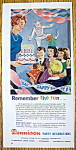 Vintage Ad: 1962 Dennison Party Decorations