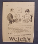 1923  Welch's  Grape  Juice