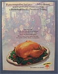 1974 Swift Premium Butterball Turkey with Turkey