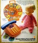 Click to view larger image of 1974 Mattel Talking Toys & Dolls with Drowsy Doll (Image2)