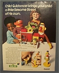 1974  Push  Button  Sesame  Street