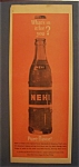 1963 Nehi Soda with a Bottle Of Orange