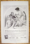 1915 Ivory Soap with Woman Washing Babies