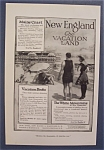 Vintage Ad: 1916 Vacation Books