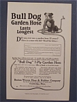 Click here to enlarge image and see more about item 9570: 1916  Bull  Dog  Garden  Hose