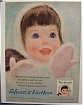 1963 Northern Toilet Tissue with Girl with Brown Hair