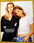 Click to view larger image of 1996 Milk with Friends Lisa Kudrow & Jennifer Aniston (Image1)