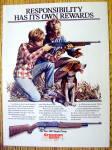 Click to view larger image of Vintage Ad: 1985 Crosman Air Guns (Image1)