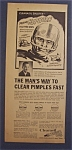 Vintage Ad: 1961 Clearasil with Frank Hepburn