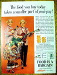 Click to view larger image of Vintage Ad: 1964 Kellogg's Foods w/Homer & Jethro (Image1)