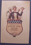 1918 Cream Of Wheat Cereal Ad with Uncle Sam