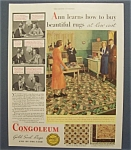 1933  Congoleum  Gold  Seal  Rugs