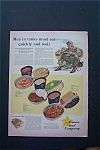 1943 Armour And Company with Soldier Sitting & Eating