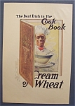 1918 Cream Of Wheat Cereal Ad with Black Chef
