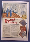 1918  Congoleum  Gold - Seal  Art - Rugs