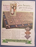 1928  Armstrong's  Quaker  Rugs
