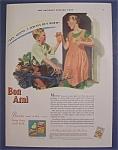 1929 Bon Ami Powder & Cake