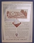 1930  Alcoa Albron Powder For Aluminum Paint