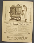 Vintage Ad: 1923 Nesco Perfect Oil Cook Stove