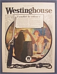 Vintage Ad: 1923  Westinghouse  Electric
