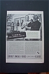 1943 Libbey Owens Ford Glass w/Man Talking to Neighbor