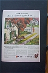 1943 The Hoover with Man Working & Woman Walking