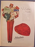 Vintage Ad: 1930 Johnston's Chocolates