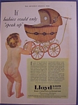 Vintage Ad: 1930 Lloyd Baby Carriages & Furniture