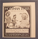 1930 Horsman Dolls with Baby Dimples & More
