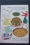 1943 Birds Eye Frosted Food with Peas & Celery