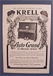 1905 Krell Auto-Grand Piano with the Piano