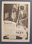 1931 S.O.S. Magic Scouring Pads