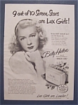 1948 Lux Toilet Soap with Betty Hutton
