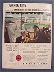 Vintage Ad: 1938  Grace Line