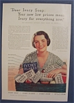 1932 Ivory Soap with a Lovely Woman